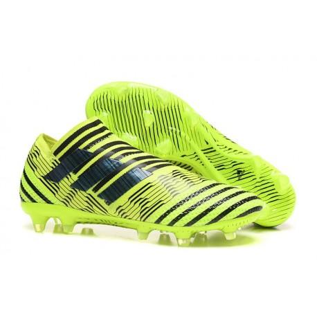 Chaussure de Football pour Hommes - adidas Nemeziz 17+ 360 Agility FG Jaune Noir
