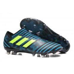 Chaussure de Football pour Hommes - adidas Nemeziz 17+ 360 Agility FG Legend Ink Jaune Bleu
