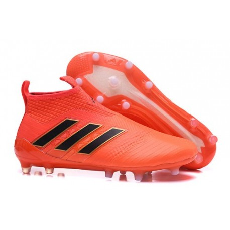 Adidas Nouveau Crampon Foot Ace17+ Purecontrol FG Orange Noir