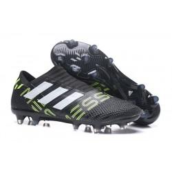 Chaussure de Football pour Hommes - adidas Nemeziz 17+ 360 Agility FG Noir Black Jaune