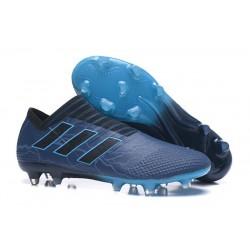Chaussure de Football pour Hommes - adidas Nemeziz 17+ 360 Agility FG Bleu Noir