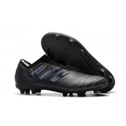 Crampons de Football Hommes - adidas Nemeziz 17+ 360 Agility FG Tout Noir