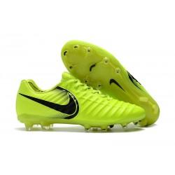 Nouveau Crampons foot Nike Tiempo Legend VII FG Volt Noir