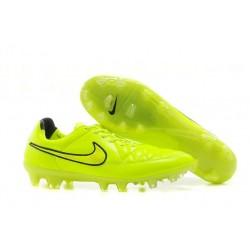 2014/2015 Chaussures Football Nike Tiempo Legend V FG Vert