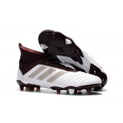 adidas Predator 18.1 FG - Chaussures de Football Adidas Brun Blanc