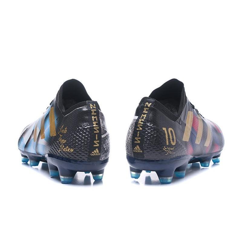Fg Or Aqns6vx6 Adidas 1 Bleu 17 Chaussures Noir Foot Messi Nemeziz Evwq8x7q5n