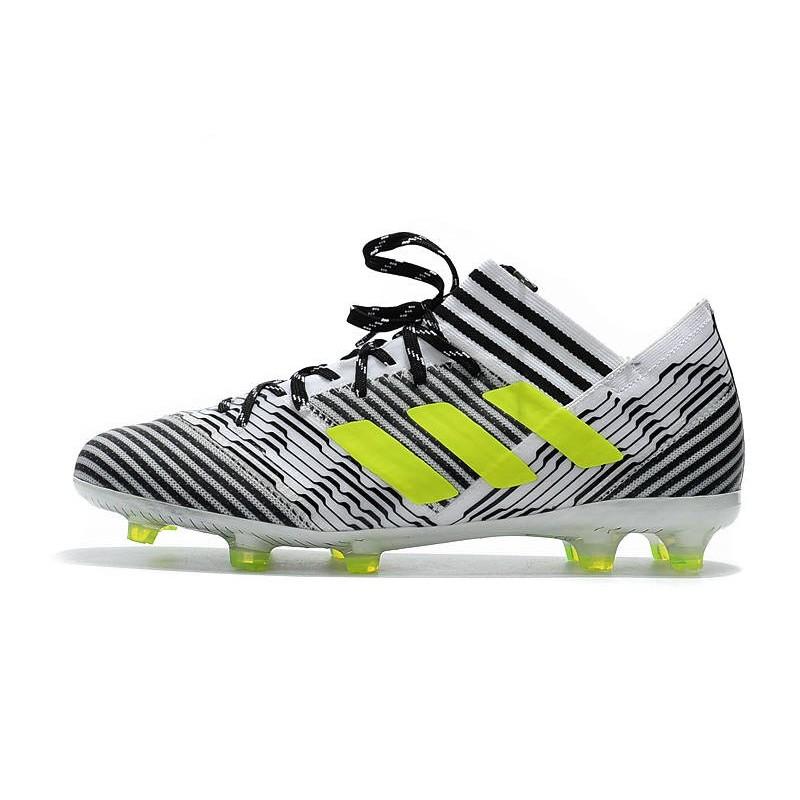 first rate e4ab5 42ed4 Blanc Adidas 17 Nemeziz Messi Foot Noir Fg Jaune 1 Chaussures UwaZq0xInU