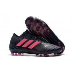 Chaussures Foot adidas - Adidas Nemeziz Messi 17.1 FG Noir Rose