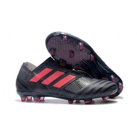 Crampons de Football Hommes - adidas Nemeziz 17+ 360 Agility FG Noir Rose