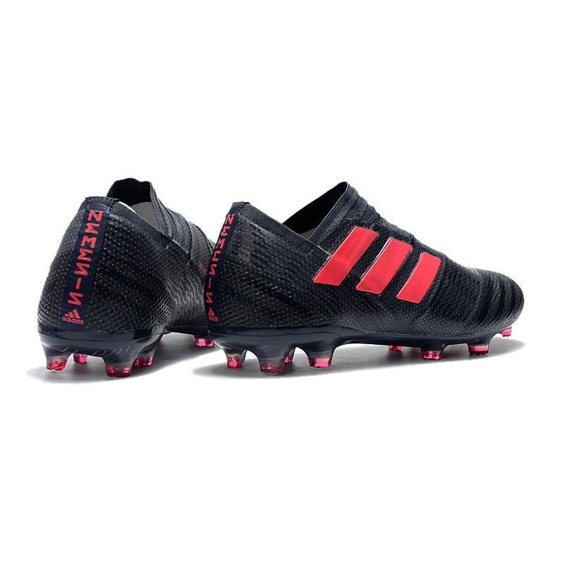 the latest d935e 18b4f Crampons de Football Hommes - adidas Nemeziz 17+ 360 Agility FG Noir Rose