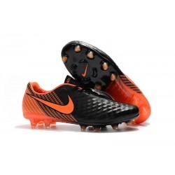 Nouvelles Chaussures de Football Nike Magista Opus II FG Noir Blanc Rouge Université