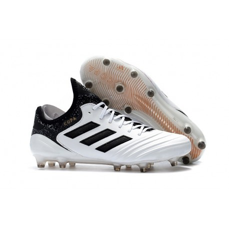 Chaussures de Football Adidas Copa 18.1 FG Blanc Noir Tactile Gold Metallic