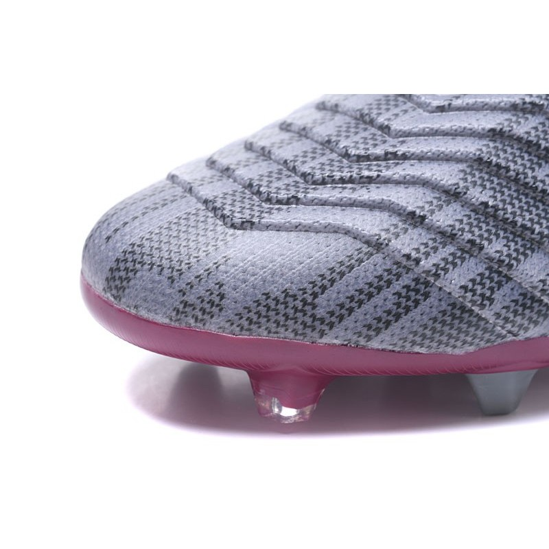 Gris 1 Rouge Football Chaussures Adidas Predator 18 De Pogba Fg m80vNwn