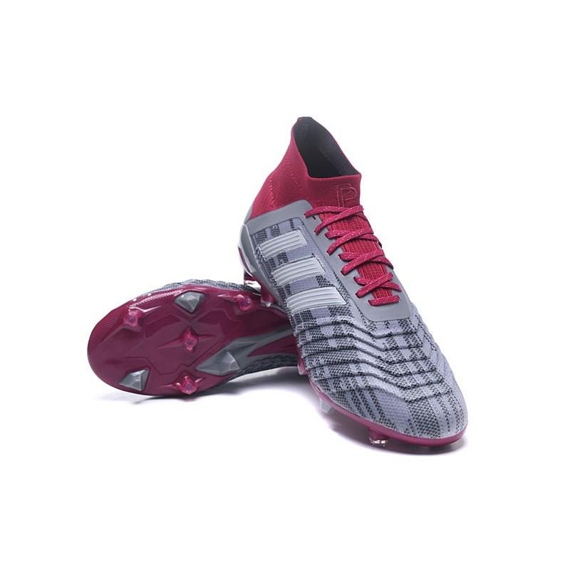 Adidas Football Rouge 18 Fg Chaussures Pogba Rl345ja 1 Gris Predator De PuTZOkXi