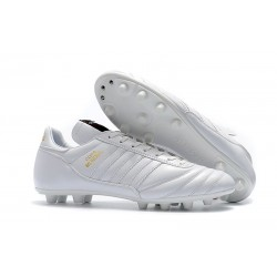 Chaussures de Football pour Hommes adidas Copa Mundial FG - Blanc Or