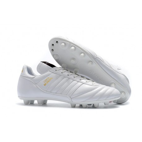 Chaussures de Football pour Hommes adidas Copa Mundial FG - Blanc Or