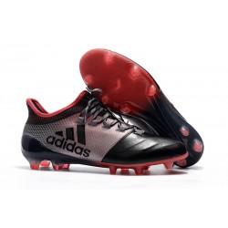 Nouveau Crampons de Football - Adidas X 17.1 FG Rose Noir