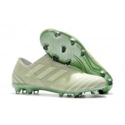 Crampons de Football Hommes - adidas Nemeziz 17+ 360 Agility FG Vert Aero