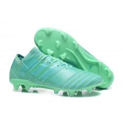 Chaussures Foot adidas - Adidas Nemeziz Messi 17.1 FG Vert
