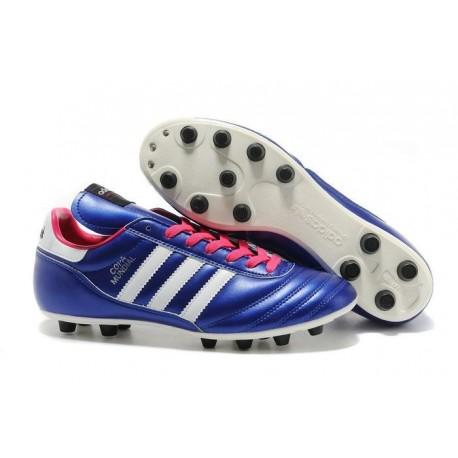 Chaussure de Football Adidas Copa Mundial FG Violet Blanc