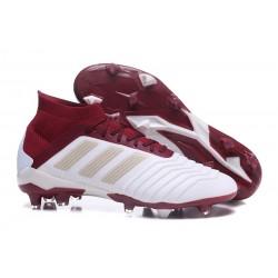 adidas Predator 18.1 FG - Chaussures de Football Adidas Blanc Rouge