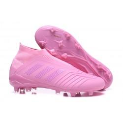 Chaussures adidas - Crampons Foot Adidas Predator 18+ FG Rose