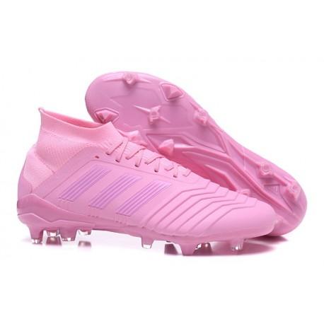 adidas Predator 18.1 FG - Chaussures de Football Adidas Rose