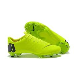 2018 Chaussures de football Nike Mercurial Vapor XII Pro FG Vert Noir
