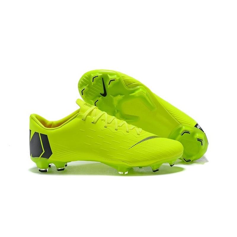 Noir Nike Vert Football Mercurial 2018 Chaussures Vapor De Pro Xii Fg E2WHI9YeD