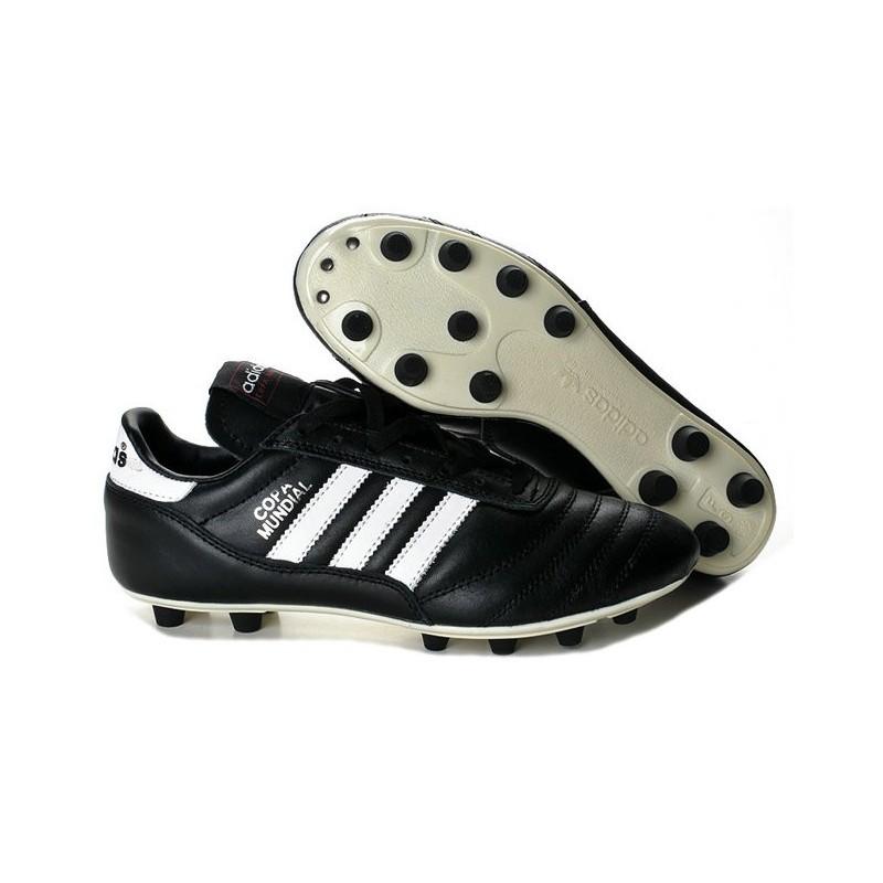 reputable site ad077 d0847 Coupe du monde 2014 Chaussure Adidas Copa Mundial FG Noir Blanc