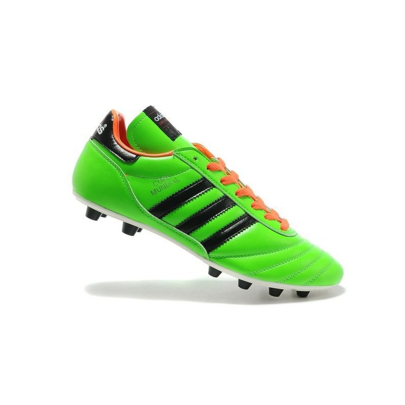 the best attitude f15d3 cd668 Nouveau Chaussure de Football Adidas Copa Mundial FG Vert Noir Orange