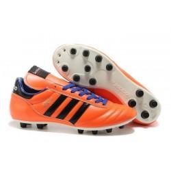 Coupe du monde 2014 Chaussure Adidas Copa Mundial FG Orange Noir