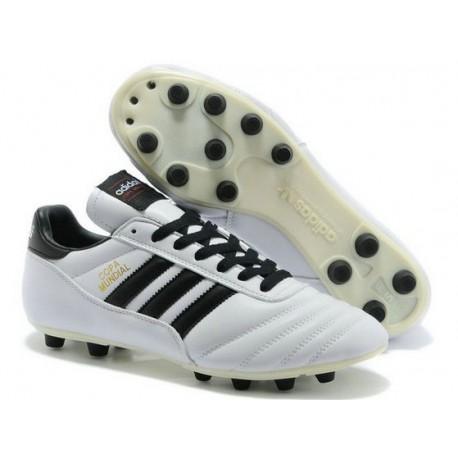 Chaussure de Football Adidas Copa Mundial FG Blanc Noir