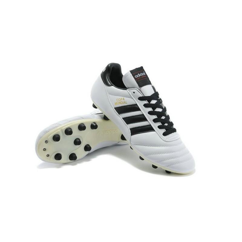 huge discount d591d 7dc02 ... coupon for chaussure de football adidas copa mundial fg blanc noir  920a8 3c063 ...