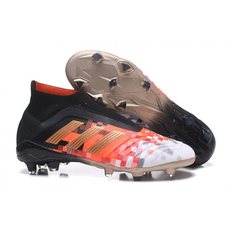 Chaussures adidas Crampons Foot Adidas PRougeator Telstar 18+ FG