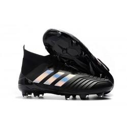 2018 adidas Predator 18.1 FG - Chaussures de Football Noir argent