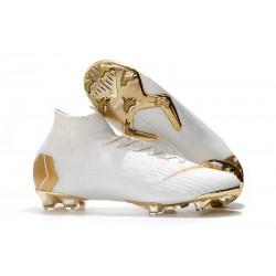Nouvelles Chaussures de football Nike Mercurial Superfly VI 360 Elite FG Vert Noir