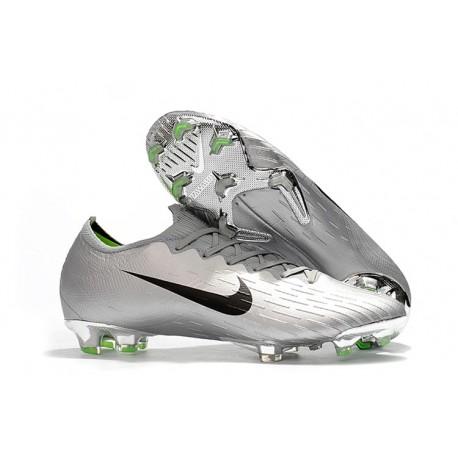 2018 Chaussures de Football Nike Mercurial Vapor XII 360 Elite FG Vert Noir