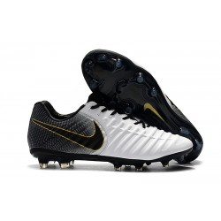 Chaussures de Football Nike pour Hommes - Nike Tiempo Legend 7 FG Or Blanc Noir