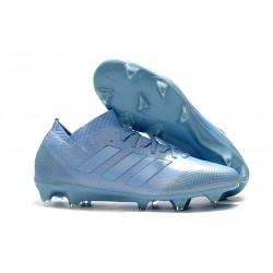 Chaussures de Football Hommes Adidas Nemeziz Messi 18.1 FG Bleu