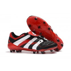 Adidas - Chaussures Football Predator Accelerator Electricity FG Noir Blanc Rouge