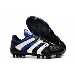 Adidas - Chaussures Football Predator Accelerator Electricity FG Noir Blanc Bleu