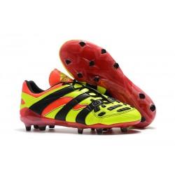 Adidas - Chaussures Football Predator Accelerator Electricity FG Jaune Rouge Noir