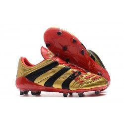 Adidas - Chaussures Football Predator Accelerator Electricity FG Or Rouge Noir